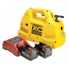 Enerpac XC-1401MB Battery powered pump (for reference only single acting pump shown)