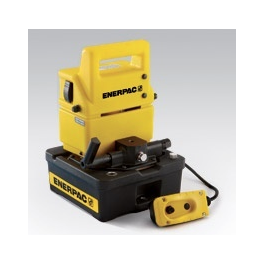 Enerpac PUD-1301B Electric pump (reference only manual valve shown).