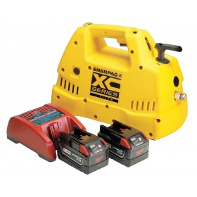 Enerpac XC-1201MB Battery powered pump